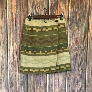 Roo Crossing Wool Skirt